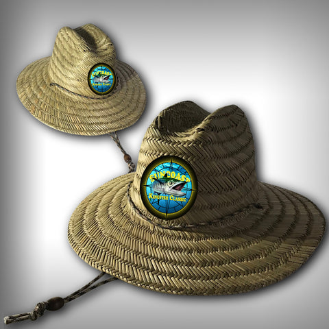 Suncoast Kingfish Tournament Lifeguard Straw Hat