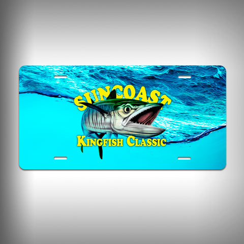 SunCoast Kingfish Classic License Plate
