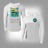 Suncoast Kingfish Classic Quarter Zip Hooded Shirt
