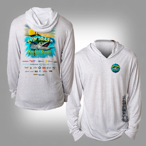 Suncoast Kingfish Classic Unisex Performance Hooded Long Sleeve Shirt