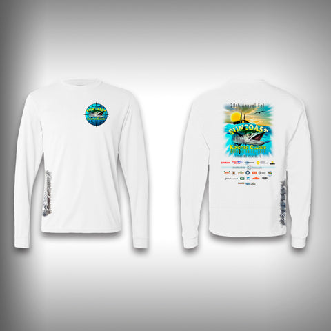Suncoast Kingfish Classic Unisex Performance Long Sleeve Shirt
