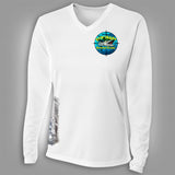 Suncoast Kingfish Classic Womens V-Neck Shirt