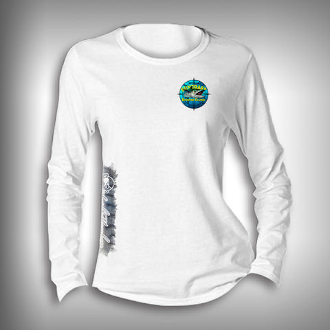 Suncoast Kingfish Classic Women's Scoop Neck Performance Long Sleeve Shirt