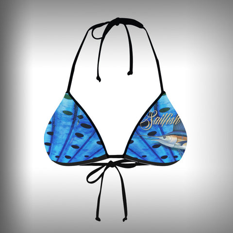 Monkinis™ Custom Full color Bikini - Sailfish Top and Bottom - SurfmonkeyGear  - 2