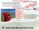 Marine Rope Storage Utility Bag - SurfmonkeyGear  - 4