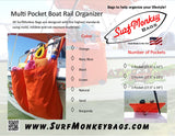 1 Pocket Boat Storage Organizer Bag - SurfmonkeyGear  - 4