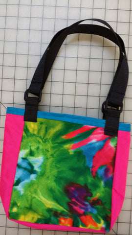 Reversible book/ lunch bag - tote bag - SurfmonkeyGear  - 1