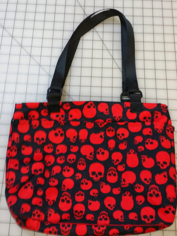 Red Skull Reversible tote bag - SurfmonkeyGear  - 1