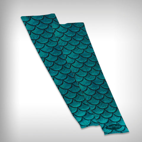 Compression Sleeve Mermaid Arm Sleeves - Mermaid - SurfmonkeyGear  - 1