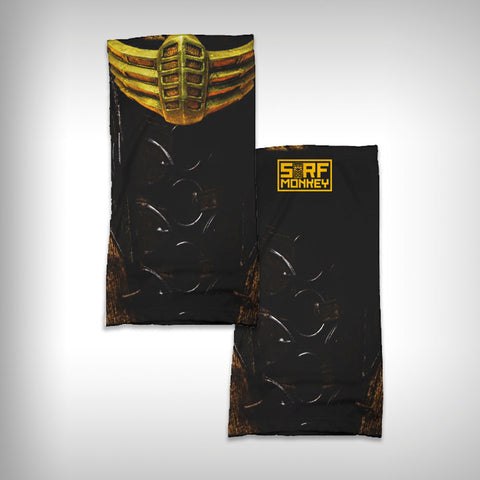 Monk Wrap Neck Gaiter / Face Shield - Scorpion - SurfmonkeyGear