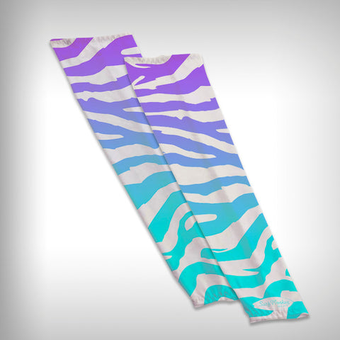 Compression Sleeve Arm Sleeve - Zebra - SurfmonkeyGear  - 1