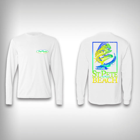Dolphin King - Performance Shirt - Fishing Shirt - SurfmonkeyGear  - 1