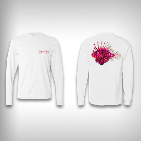 Lion Fish - Performance Shirt - Fishing Shirt - SurfmonkeyGear  - 1