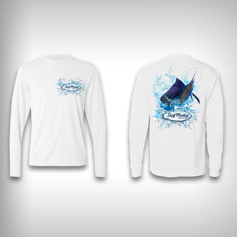Sail Fish - performance shirts - SurfmonkeyGear  - 1