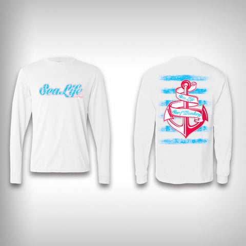 Sea Life - Performance Shirt - Fishing Shirt - SurfmonkeyGear  - 1
