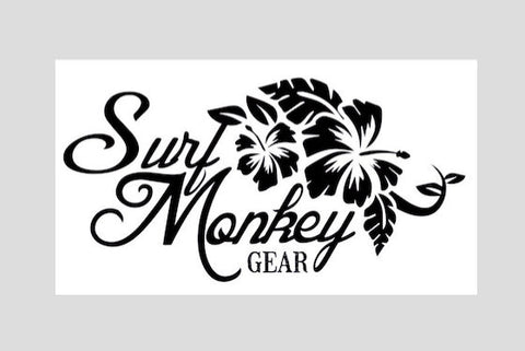Surfmonkey Gear Decal Sticker - Flowers - SurfmonkeyGear