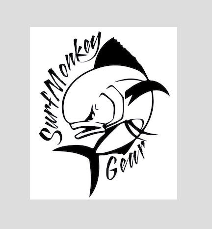 Surfmonkey Gear Decal Sticker - Mahi - SurfmonkeyGear