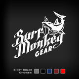 Performance T-shirt Moisture Wicking, Odor Resistant t-shirt - Shark Bite - SurfmonkeyGear  - 2