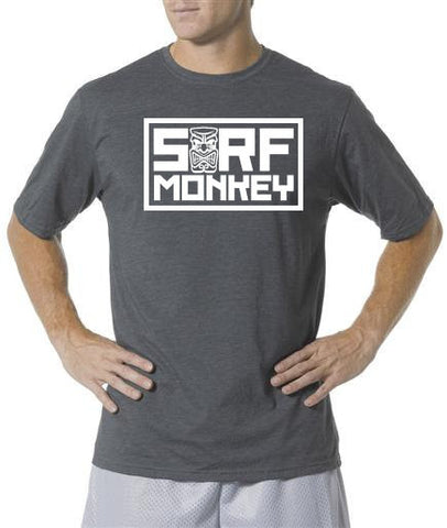 Performance T-shirt Moisture Wicking, Odor Resistant - Tiki - SurfmonkeyGear  - 1