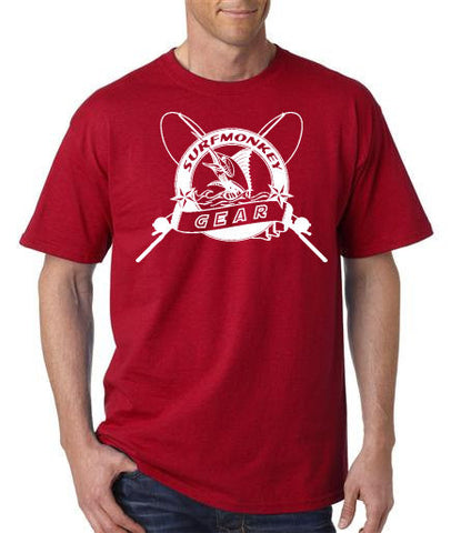 Cotton Tshirts -  Marlin TShirt - SurfmonkeyGear  - 1