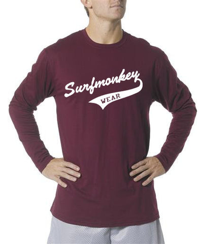 Long Sleeve Unisex Performance Tri-Blend Shirt - Athletic - SurfmonkeyGear  - 1