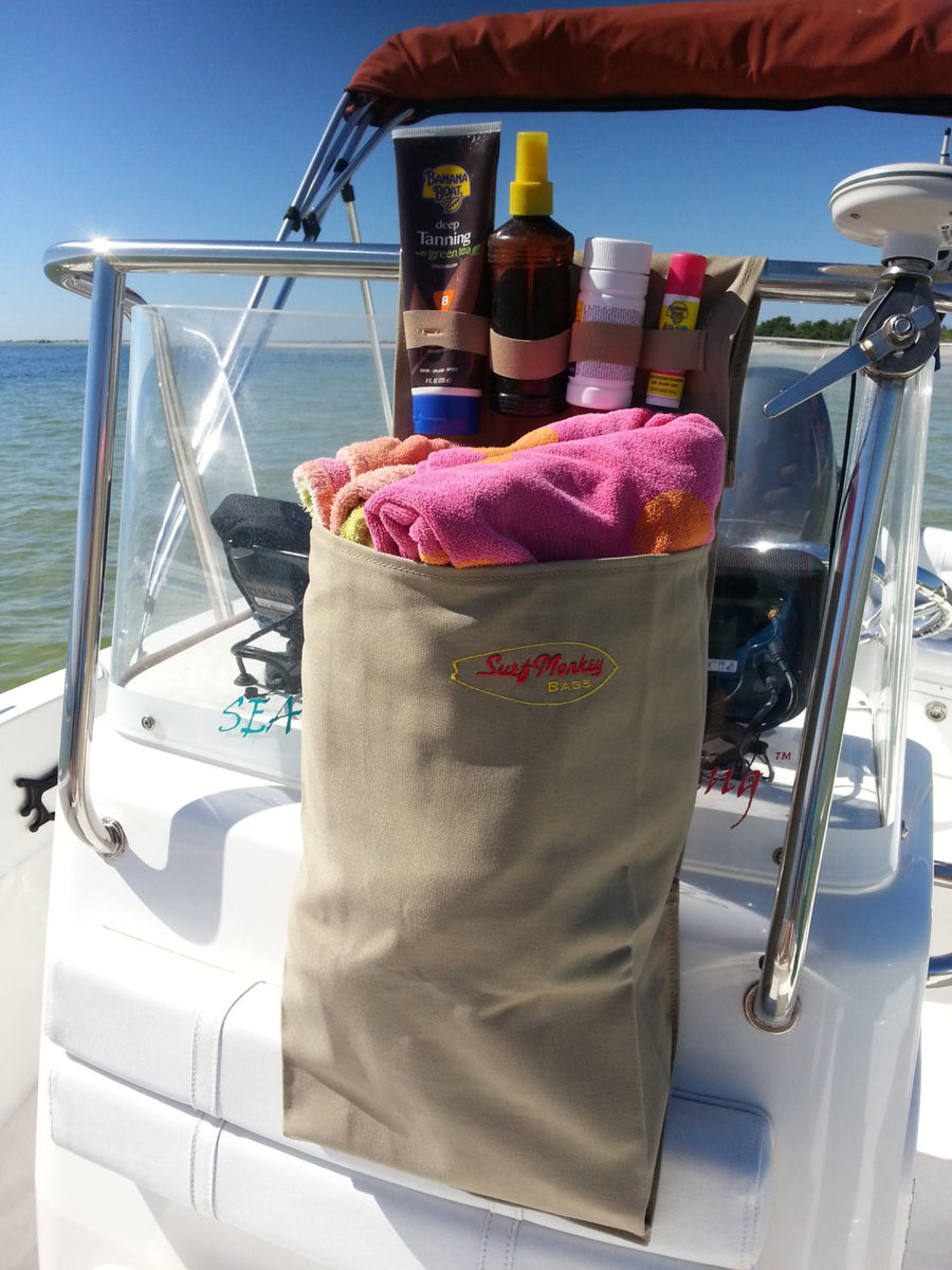 1 Pocket Boat Storage Organizer Bag Surfmonkeygear