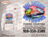 Custom Fishing Shirt - Performance Shirt - Custom Team Fishing Shirts - SurfmonkeyGear  - 3