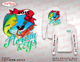 Custom Fishing Shirt - Performance Shirt - Custom Team Fishing Shirts - SurfmonkeyGear  - 5