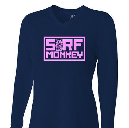 Womens Tri-blend Performance Shirt - Tiki - SurfmonkeyGear  - 1