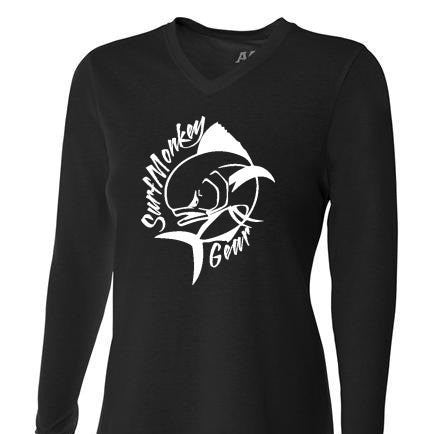 Womens Tri-blend Performance Shirt - Mahi - SurfmonkeyGear  - 1