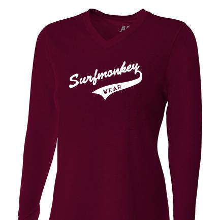 Womens Tri-blend Performance Shirt - Athletic - SurfmonkeyGear  - 1