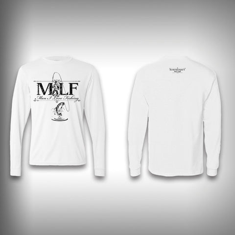 Man I love to Fish - Performance Shirt - Fishing Shirt - SurfmonkeyGear  - 1
