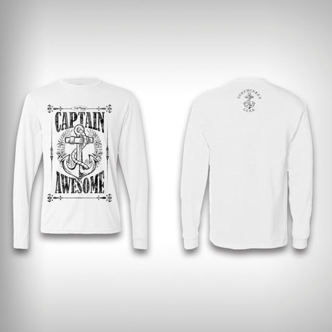 Captain Awesome - Performance Shirts - Fishing Shirt - SurfmonkeyGear  - 1