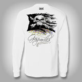Gasparilla Pirate Flag - Performance Shirts - Fishing Shirt