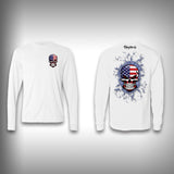 American Skull - Performance Shirts - Fishing Shirt - SurfmonkeyGear  - 1