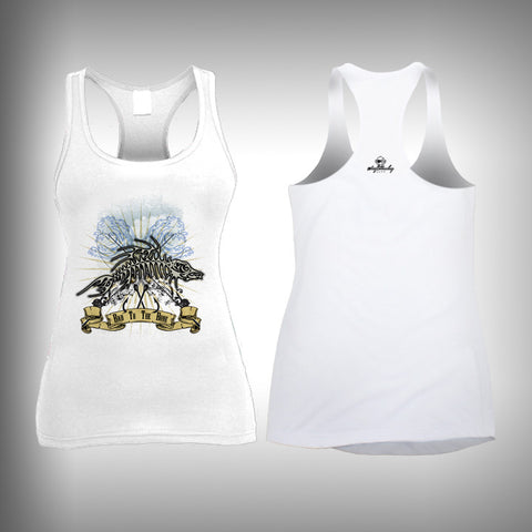 Bad to the Bone - Womens Tank Top - SurfmonkeyGear  - 1