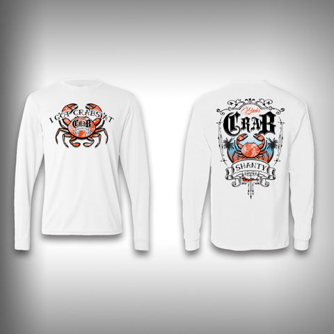Crab Shanty - Performance Shirts - Fishing Shirt - SurfmonkeyGear  - 1