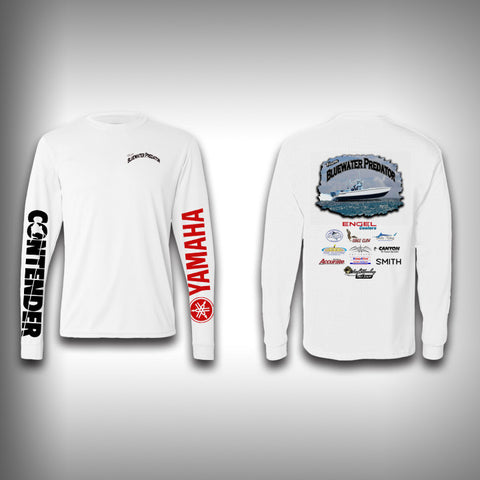Bluewater Predator Fishing Team Shirts - Performance Shirt - Fishing Shirt - SurfmonkeyGear
