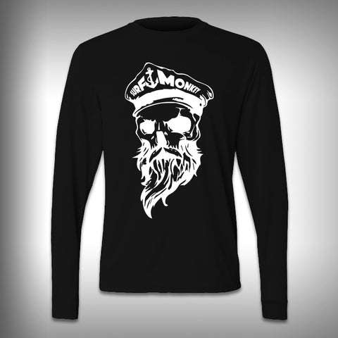 Bearded Skull Captain - Performance Shirt - Fishing Shirt - Decal Shirts
