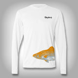 Fish Wrap Shirt -  Bass - Performance Shirts - Fishing Shirt