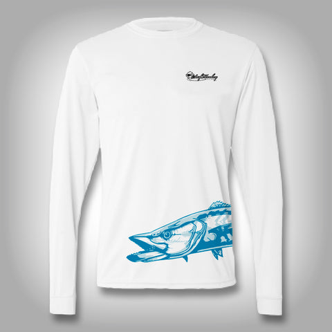Fish Wrap Shirt -  Kingfish - Performance Shirts - Fishing Shirt