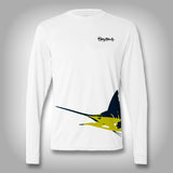 Fish Wrap Shirt -  Marlin - Performance Shirts - Fishing Shirt