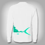 Fish Wrap Shirt -  Sailfish - Performance Shirts - Fishing Shirt