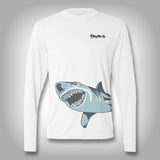 Fish Wrap Shirt - Shark - Performance Shirts - Fishing Shirt