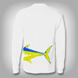 Fish Wrap Shirt - Tuna - Performance Shirts - Fishing Shirt