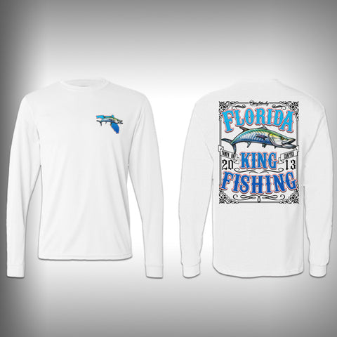 Florida Kingfishing Performance Shirt - Kingfish - Performance Shirts - Fishing Shirt - SurfmonkeyGear  - 1