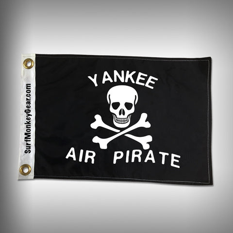 Yankee Air Pirate Embroidered Custom Flag - SurfmonkeyGear