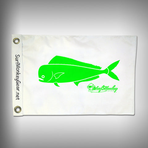 Fish Tournament Flag - Mahi - Marine Grade - Boat Flag - SurfmonkeyGear
