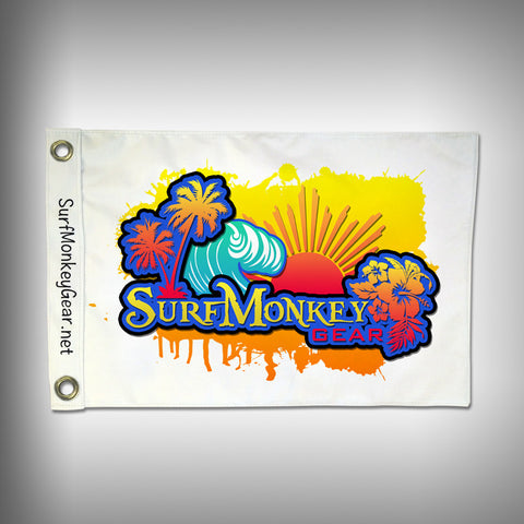Custom Flags Dye Sublimation Sublimate Inks Double Sided - SurfmonkeyGear  - 1