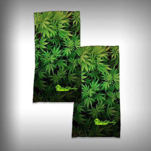Monk Wrap Neck Gaiter / Face Shield - Cannibis - SurfmonkeyGear